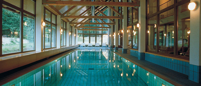 Hotel Jezero, Lake Bohinj, Slovenia - Pool.jpg